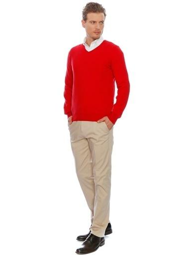 Cotton Bar Kazak Kırmızı